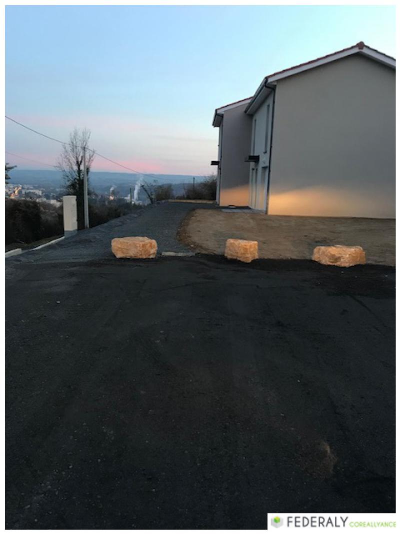 Federaly   Fin des travaux pour le chantier d'une maison individuelle sur la commune de Vienne