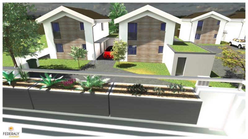 Federaly | Perspective APS d'un projet immobilier sur la commune de Vaulnaveys