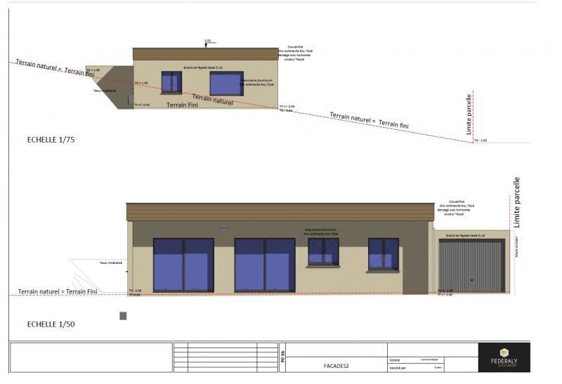 Federaly | Construction d'une villa contemporaine éco-responsable