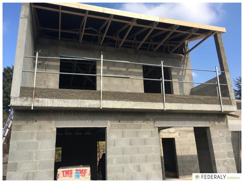 Federaly   En cours : construction d'une villa individuelle à Lozanne