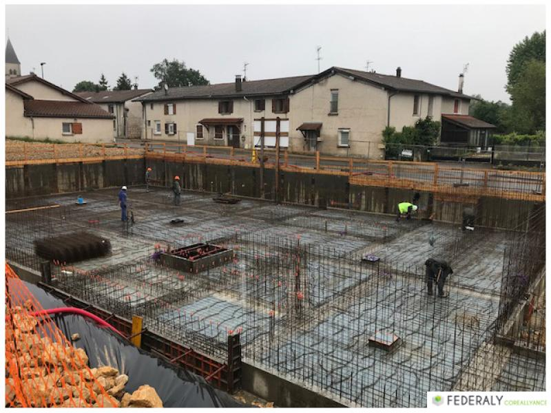 Federaly   En cours : Réalisation de 36 logements sur la commun de Saint-Paul de Varax