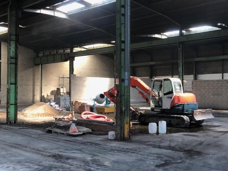 Federaly | En cours : réalisation d'un centre de préparation de véhicules
