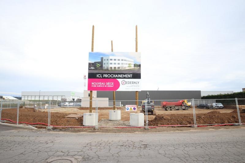 Federaly   Nouveau chantier : Notre nouveau siège à Chaponnay (69)
